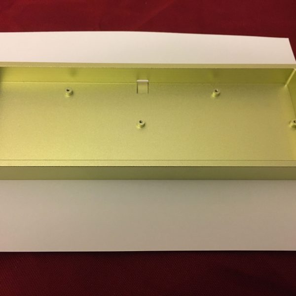 AMJ40 Aluminum Fluorescent Green Case