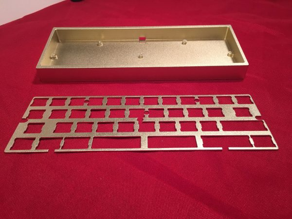 AMJ40 Aluminum Gold Case