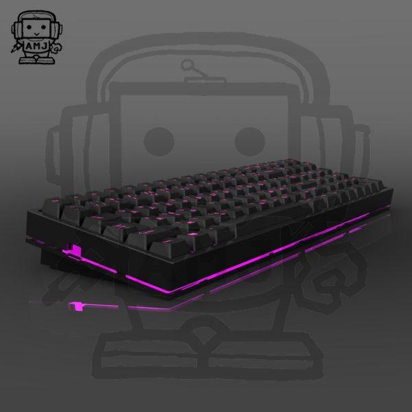 AMJ96 Keyboard with Aluminum Case