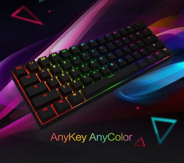 Anne Pro Wireless Mechanical Keyboard RGB Colors