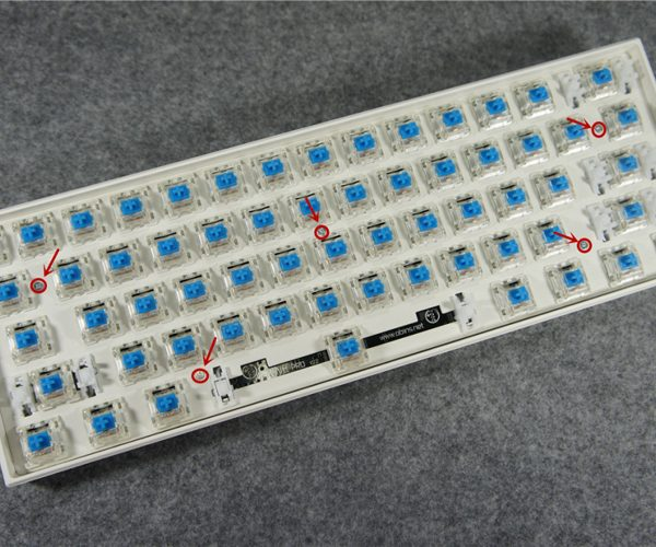 Anne Pro Wireless Mechanical Keyboard Switches