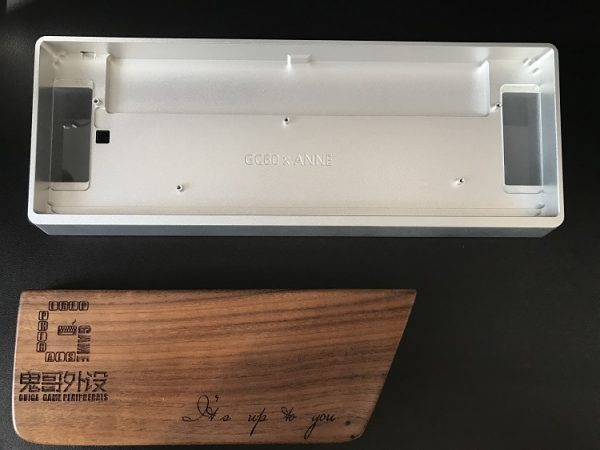 Anne Pro Aluminum Case Silver