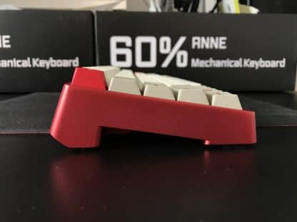 Anne Pro Aluminum Case Red Profile