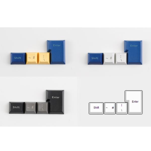 DSA Keycaps ISO Keys