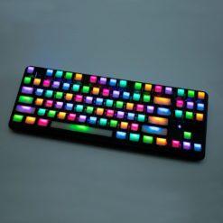 OEM Translucent Side Legend Keycaps Main