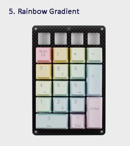 Rainbow Gradient Keycaps