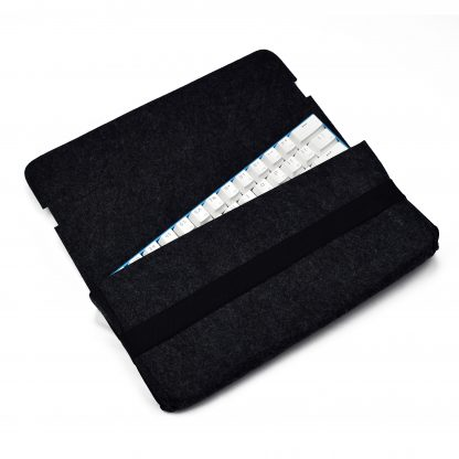 Black Carrying Pouch with keyboard