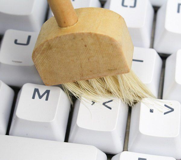 Keyboard Brush Use