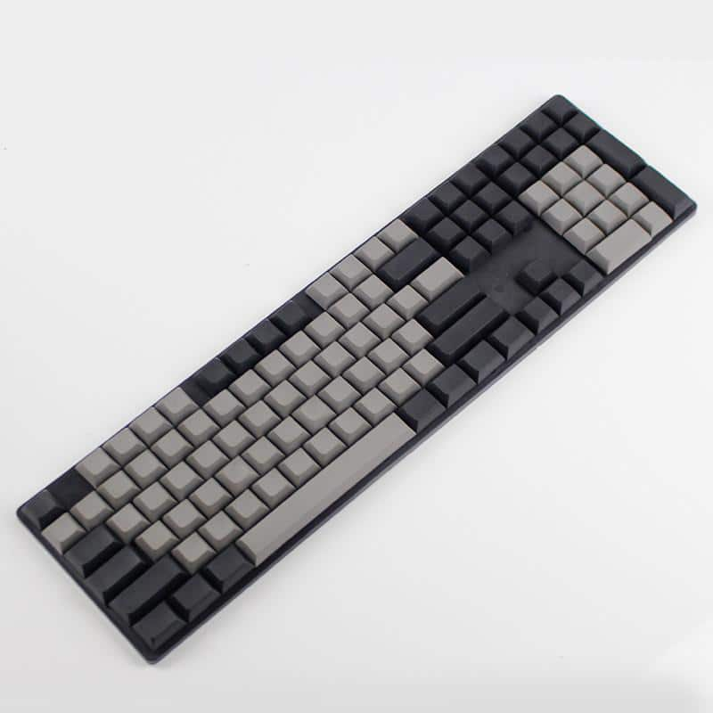 DSA Blank PBT Gray and Black