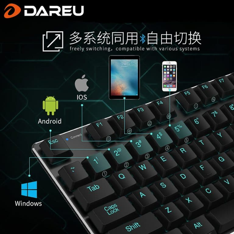 DareU EK820 Bluetooth Multiple Devices