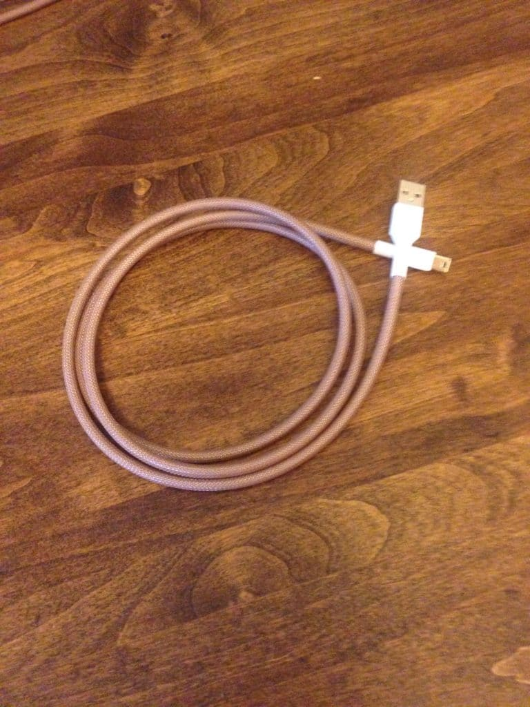 DSA Coffee House Cable Uncoiled