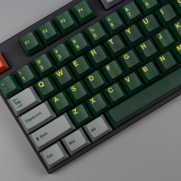 Green Train Cherry Profile PBT Keycaps