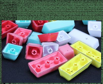 acrylic doubleshot keycaps