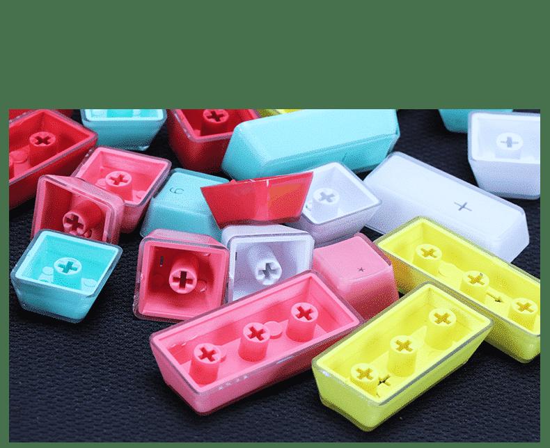 Acrylic Double Shot Keycaps