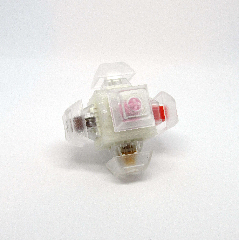 0cd82a85117 Kailh Switch Fidget Cube Keychain – Flashquark