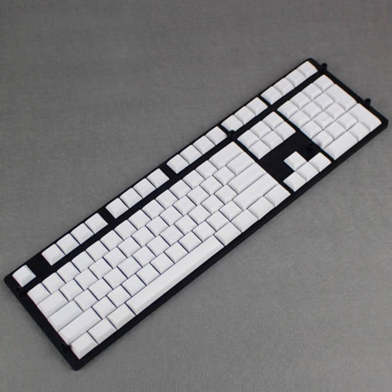 DSA Blank PBT Keycaps – White