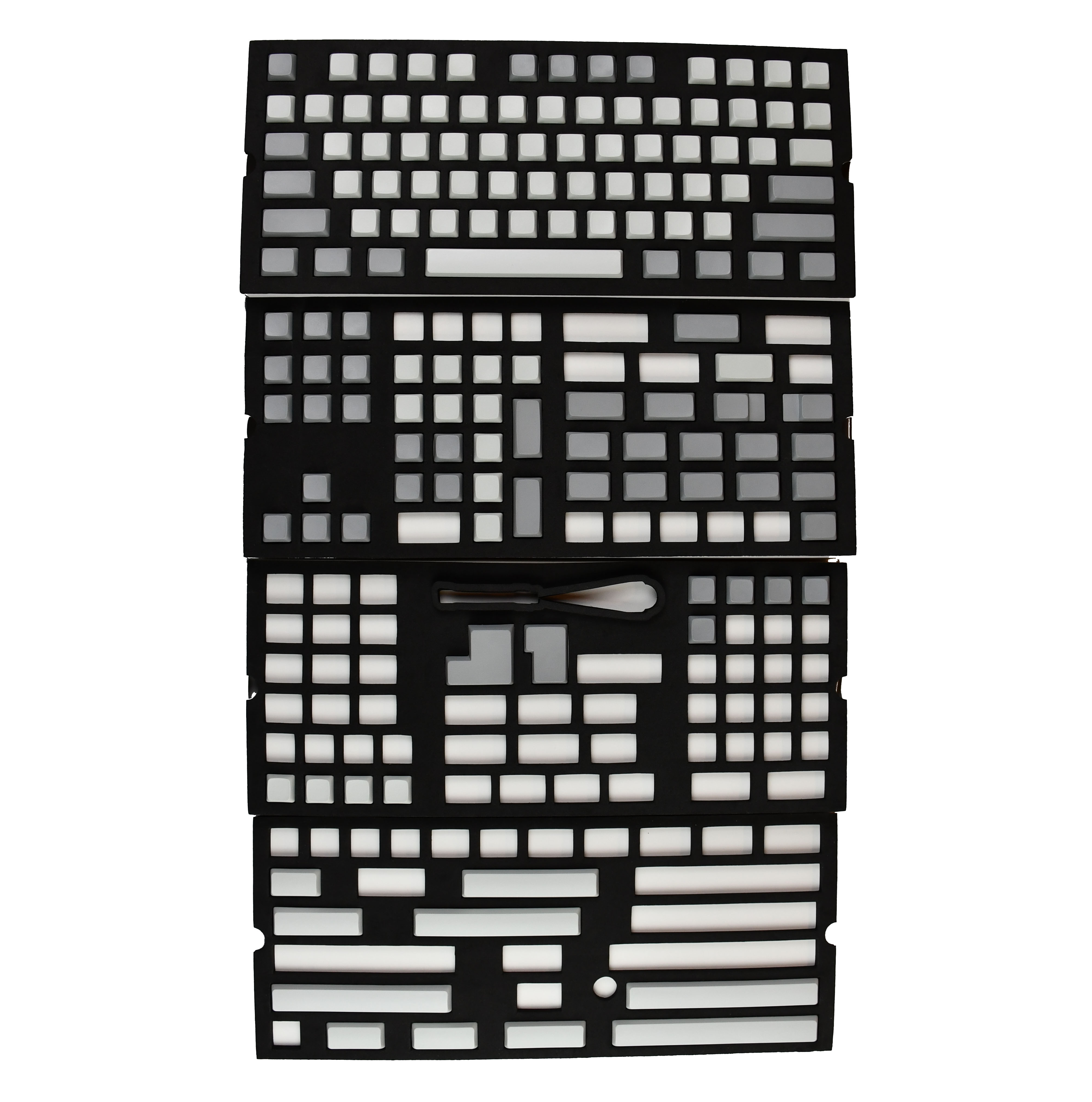 XDA Blank Keycaps Full Set