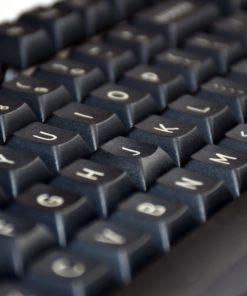 Closeup DSA PBT Black Keys
