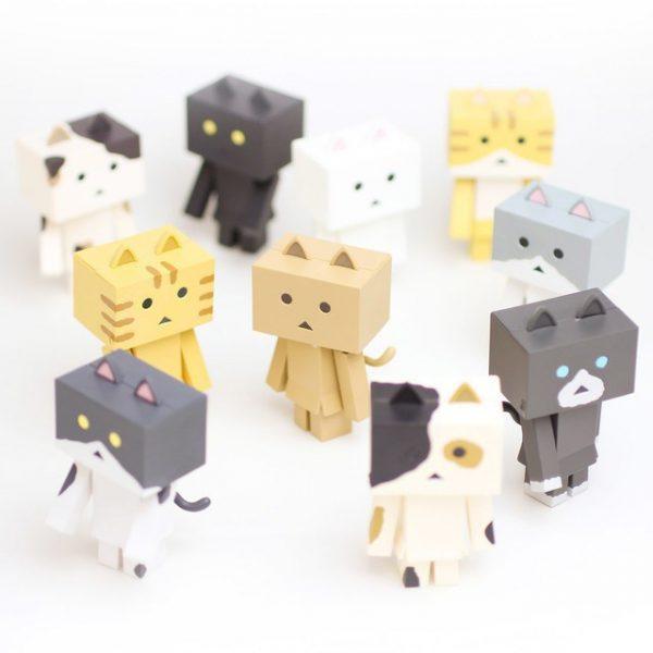 Nyanboard Danboard Cat Figures