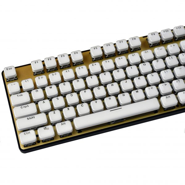 Acrylic Chiclet Keys Mechanical Keyboard