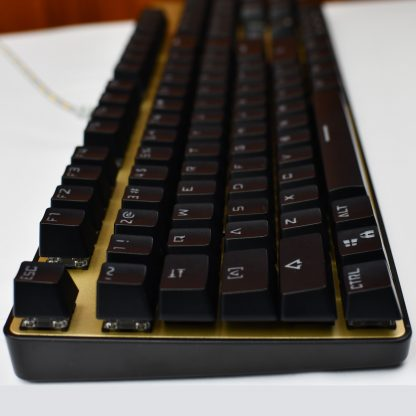 Black OEM Keycaps Side view