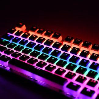 Pudding PBT Keycaps Backlighting