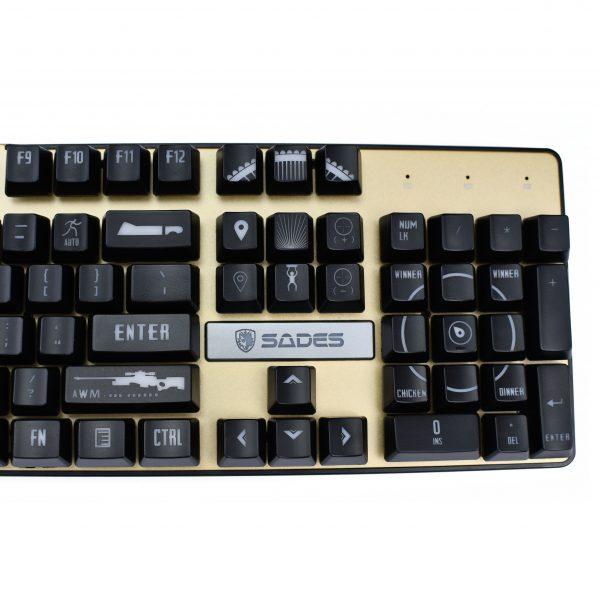 PUBG Keycaps Right