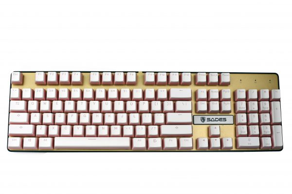 Pudding Keycaps Pink Full