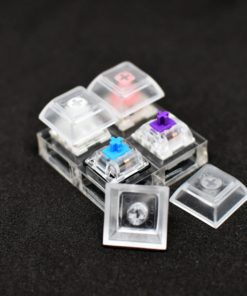 4 Slot Switch Tester with Keycaps