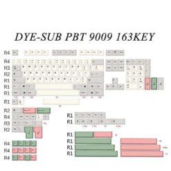 9009 Keycap Sizes