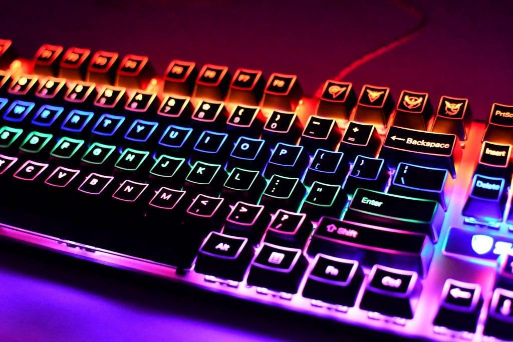 OEM Borderlit Shinethrough Keycaps