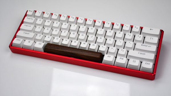 Wooden Spacebar Full Keyboard