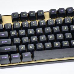 SA Midnight Keycaps Angled