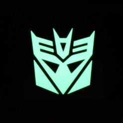 Decepticon Glow Decal Dark