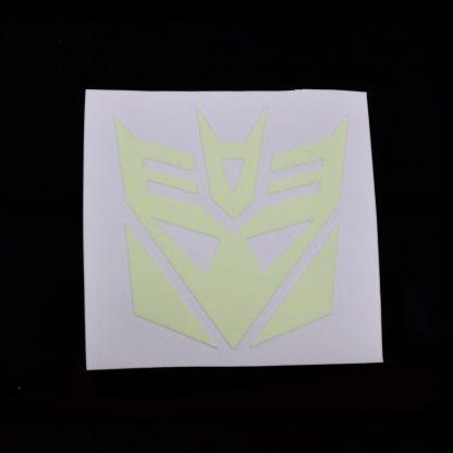 Decepticon Glow Decal Light