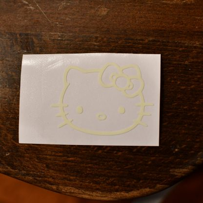 Hello Kitty Glow Decal Light