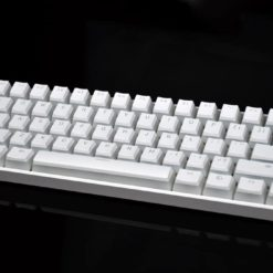 Vanilla Pudding Keycaps White No LEDs