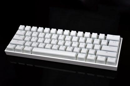 Vanilla Pudding Keycaps White No LEDs