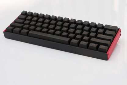 Iqunix F60 Black and Red Side