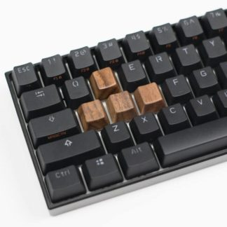 Wooden WASD Keycaps Profile