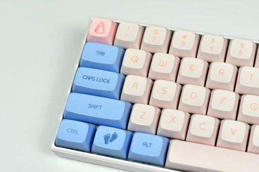 XDA Baby Keycaps Left