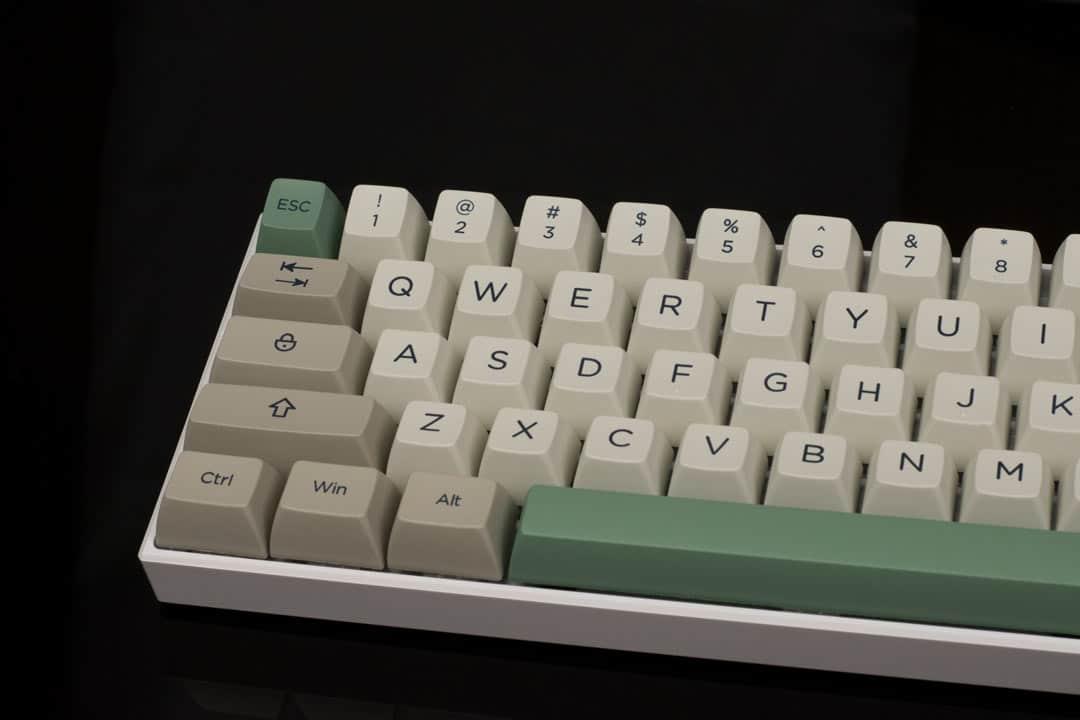 SA Profile 9009 PBT Keycaps (170 key set)