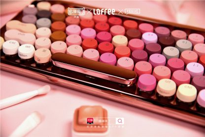 Limited Edition Lofree Cosmetic Keyboard 10