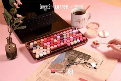 Limited Edition Lofree Cosmetic Keyboard 8
