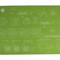 Lime Green Deskmat Main