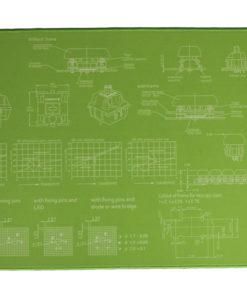 Lime Green Deskmat Main