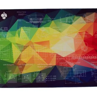 Rainbow Geometric Deskpad Main