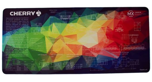 Rainbow Geometric Deskpad Main