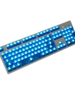 OEM Blue Translucent Keycaps LEDs