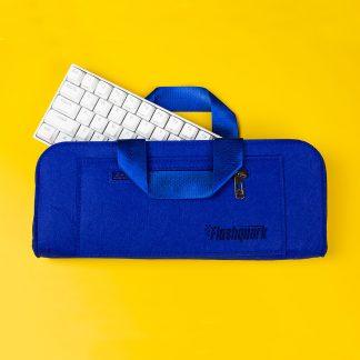 60% Mechanical Keyboard Carrying Case Blue